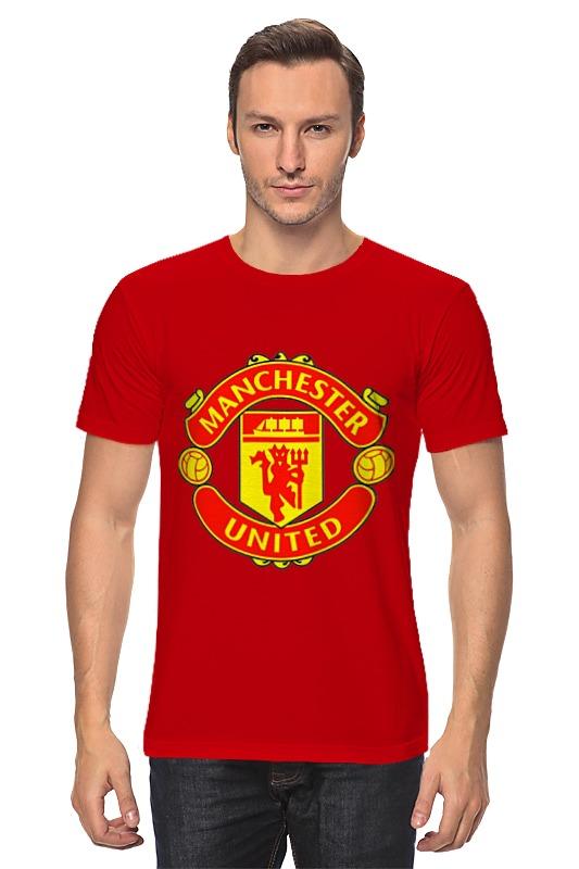 Футболка классическая Printio Manchester united john cooper clarke manchester