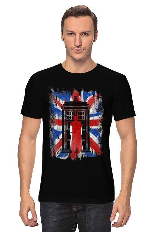 Футболка классическая Printio 10th флаг uk (доктор кто) футболка классическая printio uk love