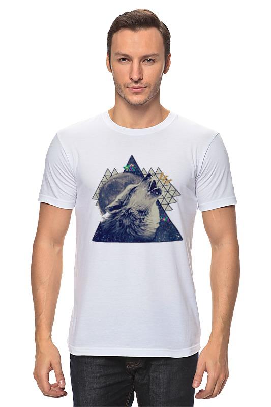 Футболка классическая Printio Волк. футболка классическая printio тамбовский волк тебе товарищ