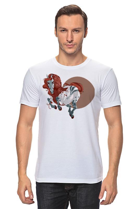 Футболка классическая Printio Лошадь футболка стрэйч printio речная лошадь