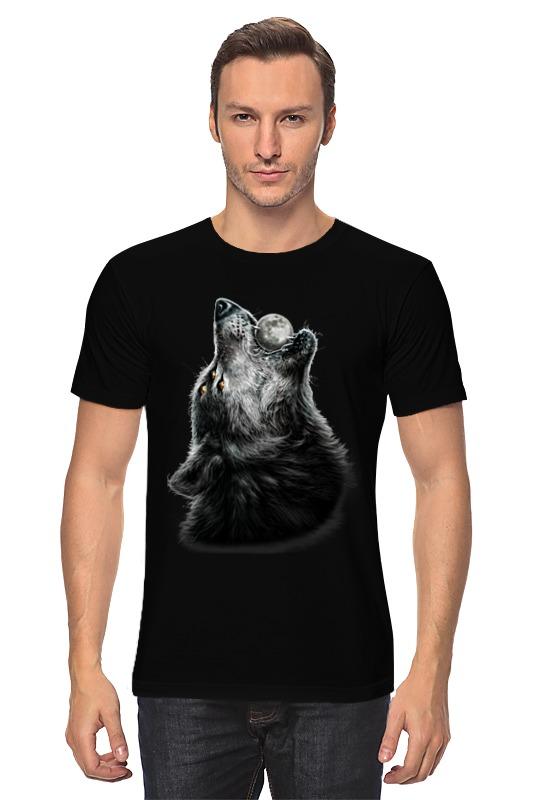 Футболка классическая Printio Волк и луна футболка стрэйч printio волк и луна