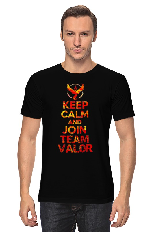 Футболка классическая Printio Keep calm team valor футболка wearcraft premium printio keep calm