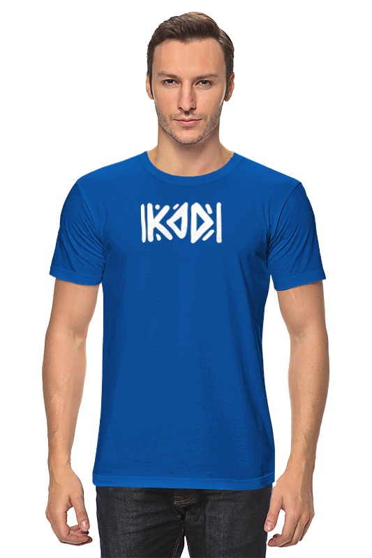 Футболка классическая Printio Футболка с логотипом kod футболка print bar футболка с логотипом карателя