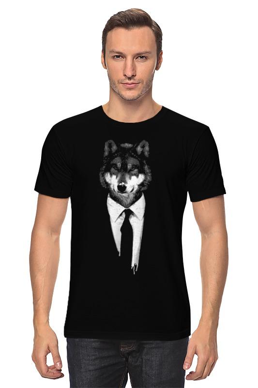 Футболка классическая Printio Мистер волк лонгслив printio мистер волк