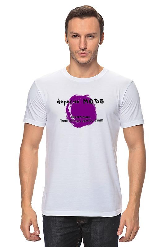 Футболка классическая Printio Depeche mode sofad цена и фото