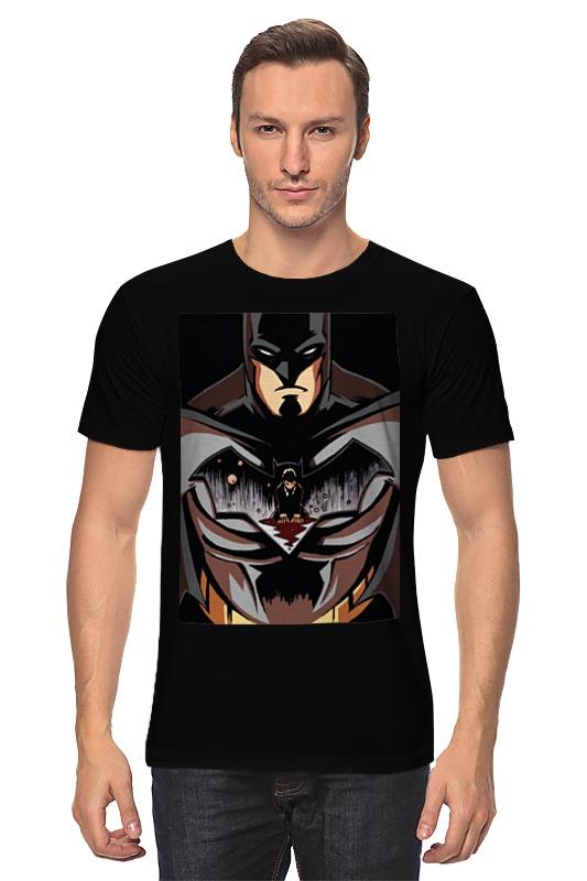 Футболка классическая Printio Batman / бэтмен футболка рингер printio batman бэтмен