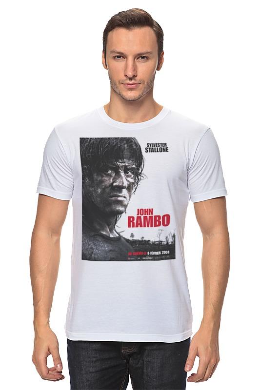 Футболка классическая Printio Rambo iv футболка joma футболка elite iv