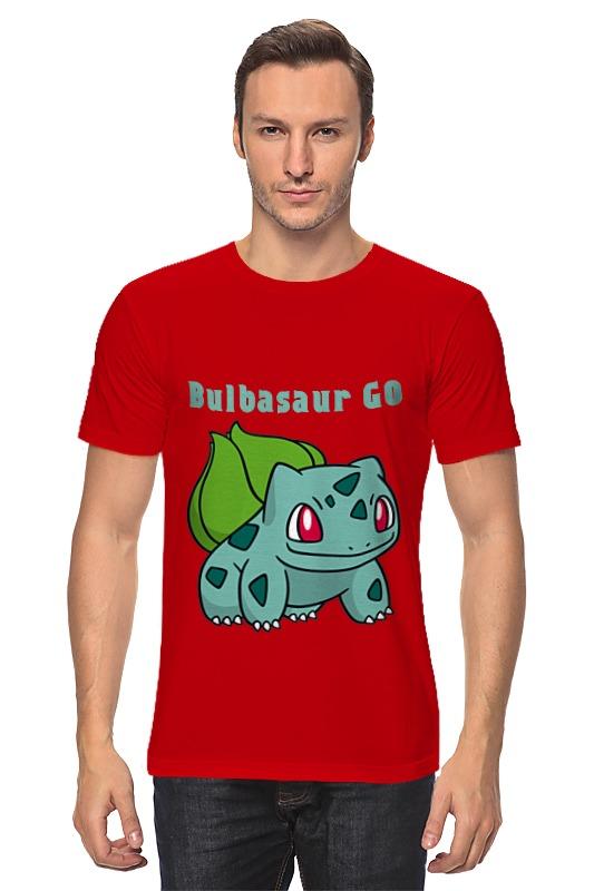 Футболка классическая Printio Pokemon bulbasaur lno 117pcs bulbasaur pokemon building block