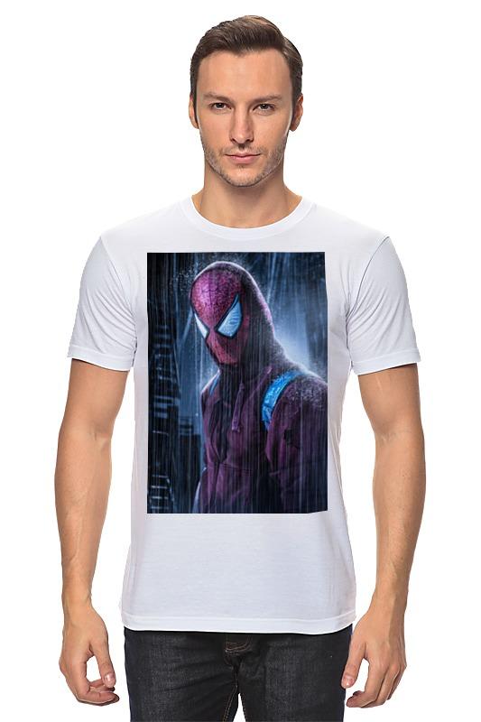 Футболка классическая Printio Человек-паук (spider-man) блокнот printio spider man человек паук