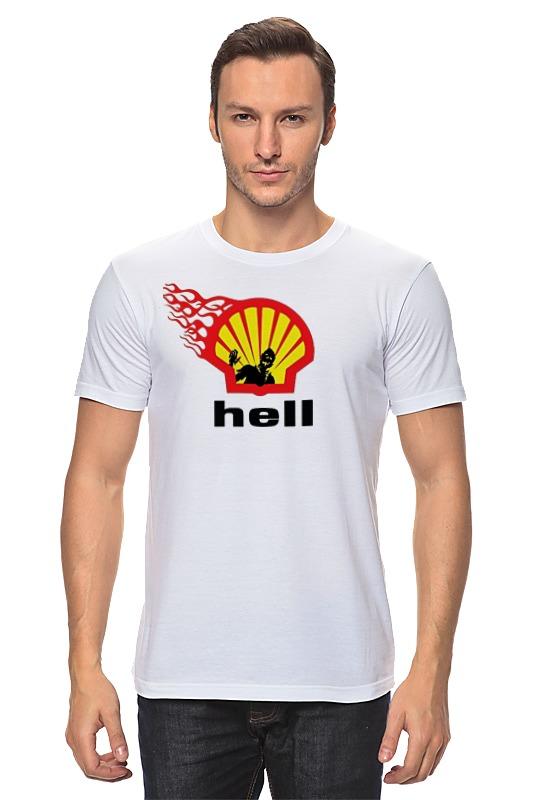 Футболка классическая Printio Shell/hell футболка wearcraft premium printio hell yeah