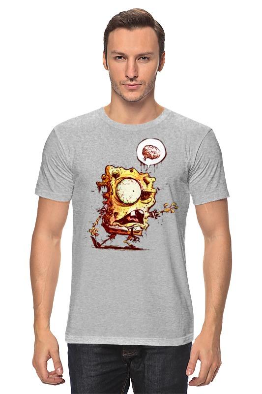 Футболка классическая Printio Спанч боб зомби губка боб квадратные штаны день мороженого книжка мозаика