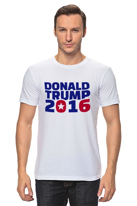 Футболка классическая Printio Trump 2016 футболка классическая printio cthulhu 2016
