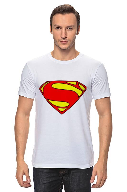 Футболка классическая Printio Superman superman