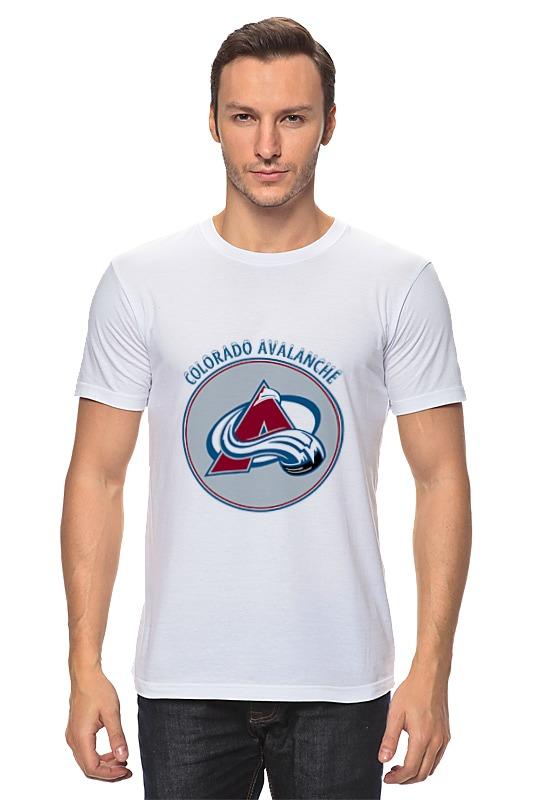 Футболка классическая Printio Colorado avalanche футболка wearcraft premium slim fit printio colorado avalanche