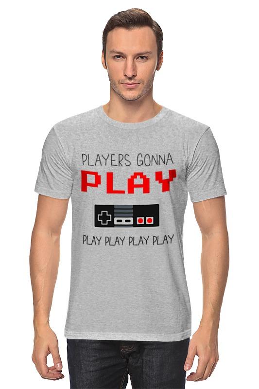 Футболка классическая Printio Игрок (геймер) футболка рингер printio игрок геймер