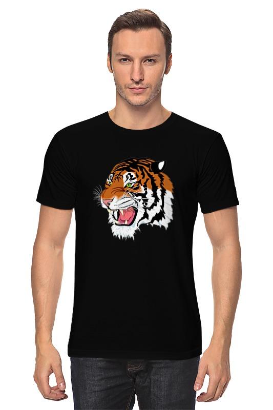 Футболка классическая Printio Тигр