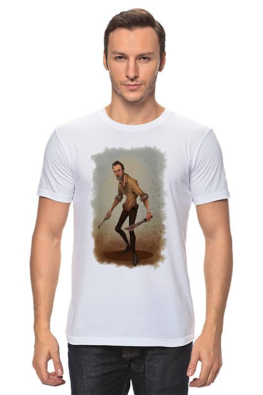 Футболка классическая Printio The walking dead rick футболка классическая printio the walking dead rick