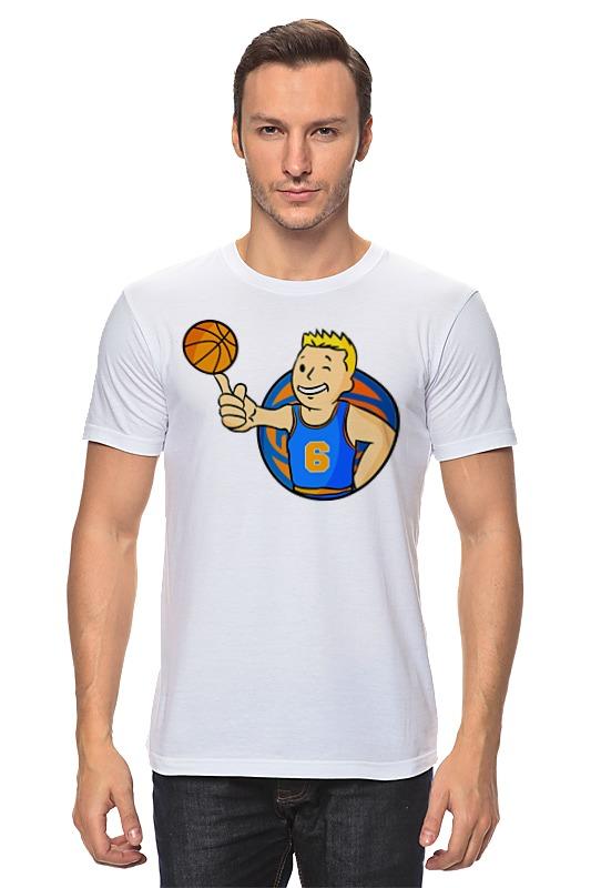Футболка классическая Printio Кристапс порзингис (фоллаут) футболка с полной запечаткой printio нью йорк никс