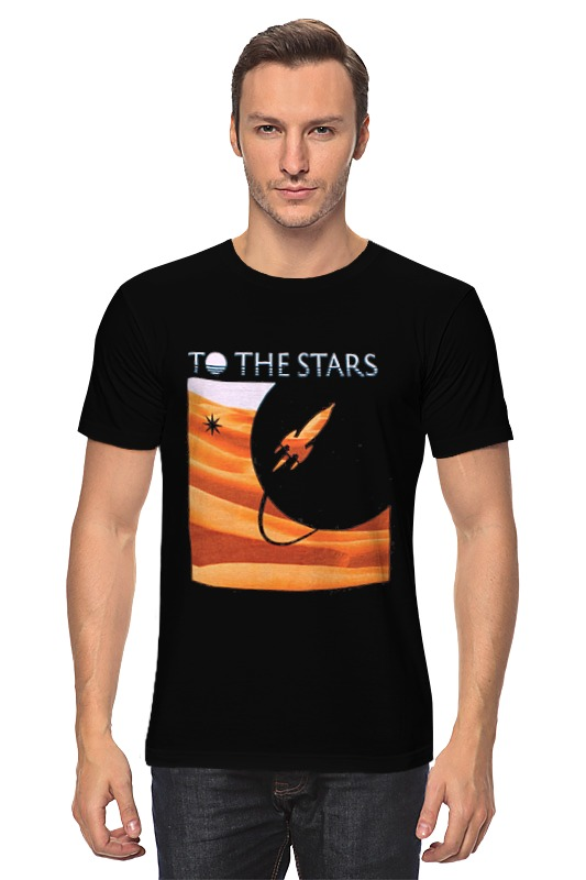 Футболка классическая Printio To the stars dunes mens футболка классическая printio to the point