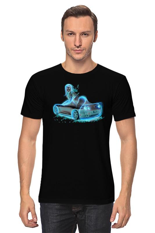 Футболка классическая Printio Девушка в машине футболка классическая printio сексуальная девушка в молоке