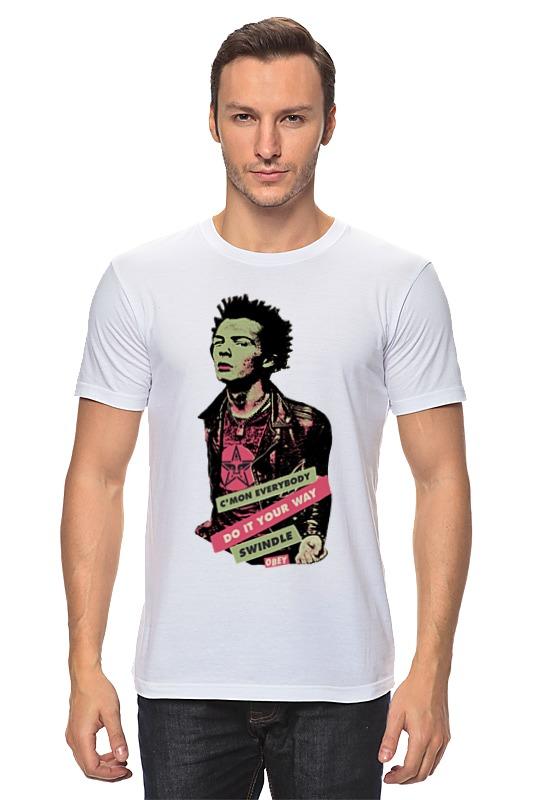 Футболка классическая Printio Sid vicious футболка print bar сид барретт