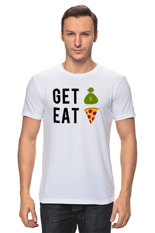 Футболка классическая Printio Деньги пицца майка классическая printio деньги пицца