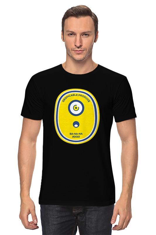 Футболка классическая Printio Миньон (banana)