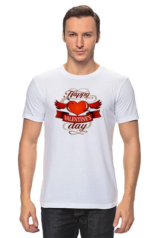 Футболка классическая Printio Happy valentnine's day футболка классическая printio 62 2% в саратове