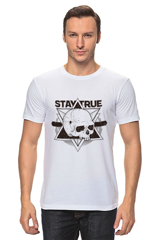 Printio Stay true футболка классическая printio stay true