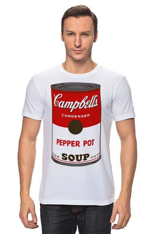 Printio Campbell's soup (энди уорхол) блокнот в линейку andy warhol soup can