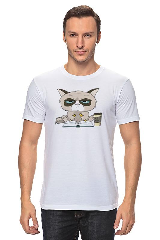 Printio Грустный кот детская футболка классическая унисекс printio грустный кот grumpy cat