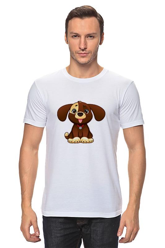 Футболка классическая Printio Милая собачка футболка мужская senleis sls t1616 2015 1616