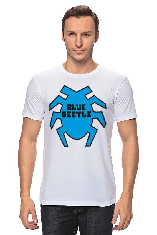 Футболка классическая Printio Синий жук футболка классическая printio вольскваген жук