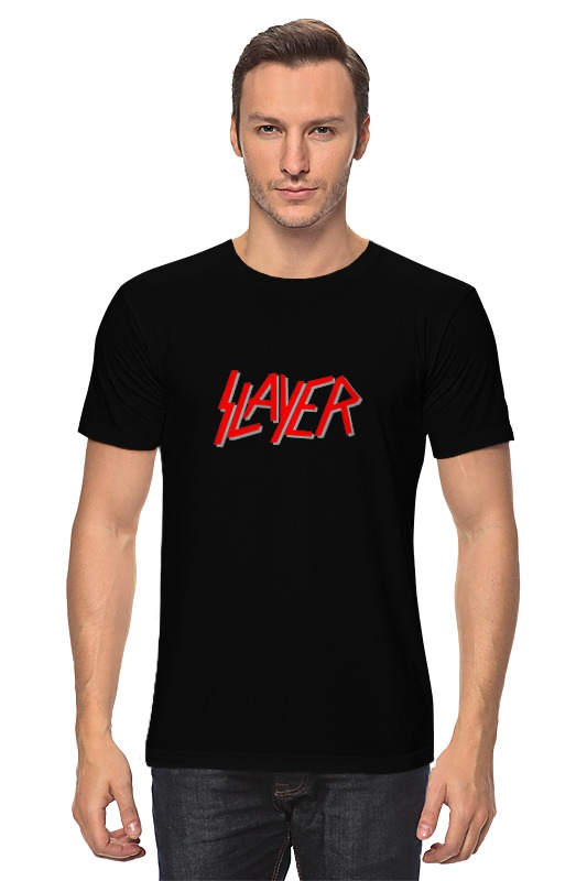 Футболка классическая Printio slayer slayer slayer christ illusion