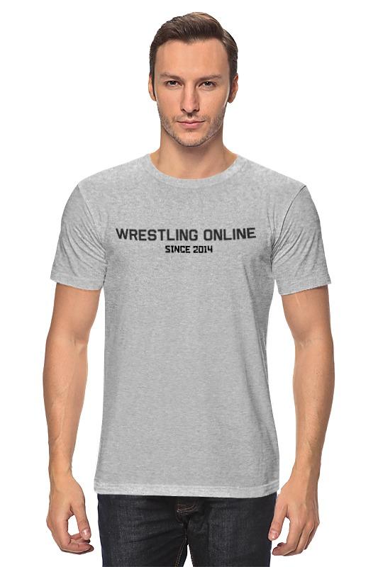 Футболка классическая Printio Wrestling online t shirt stripe panel raglan sleeve t shirt