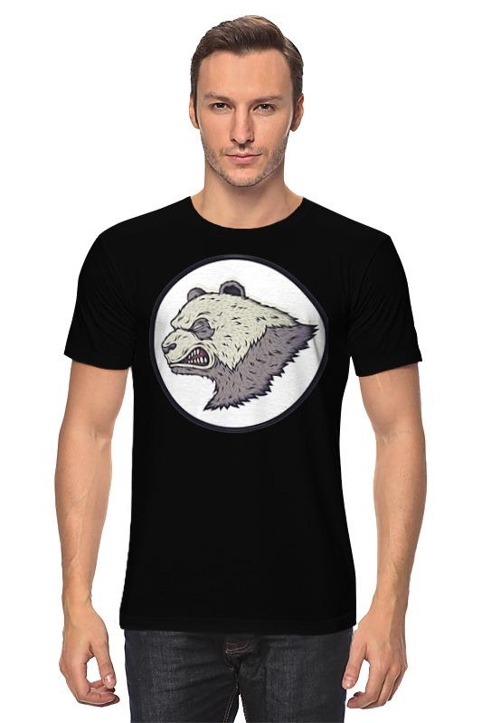 Футболка классическая Printio Angry panda / злая панда