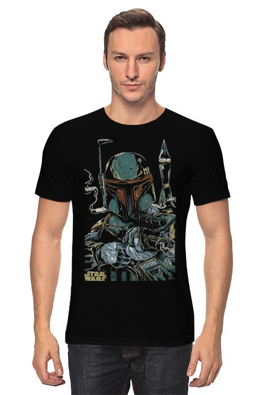 Футболка классическая Printio Звездные войны боба фетт футболка классическая printio лего звездные войны