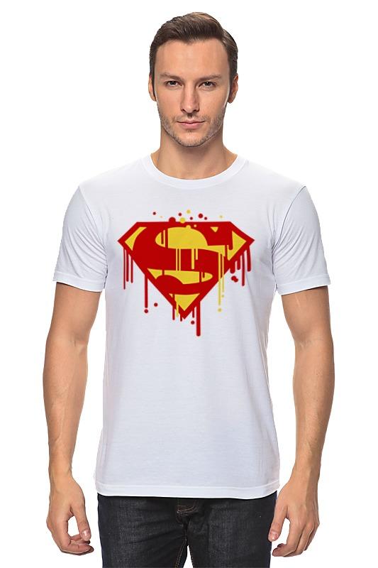 Футболка классическая Printio Супермен