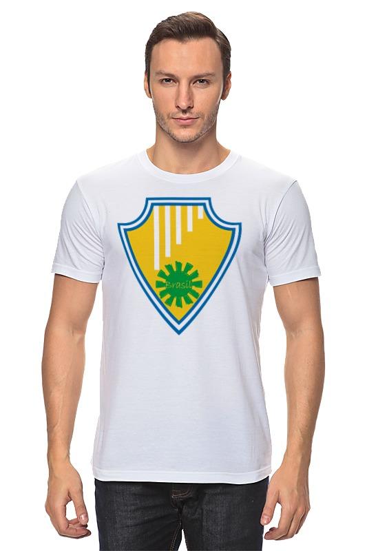 Футболка классическая Printio Бразилия апдайк джон хойер бразилия