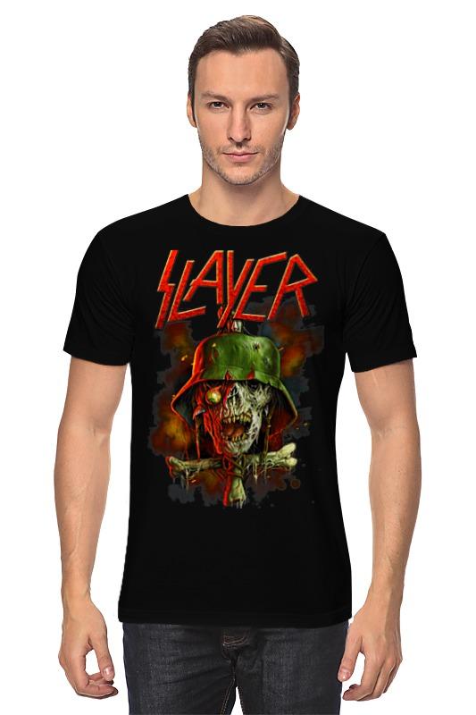 Футболка классическая Printio Slayer band футболка slayer