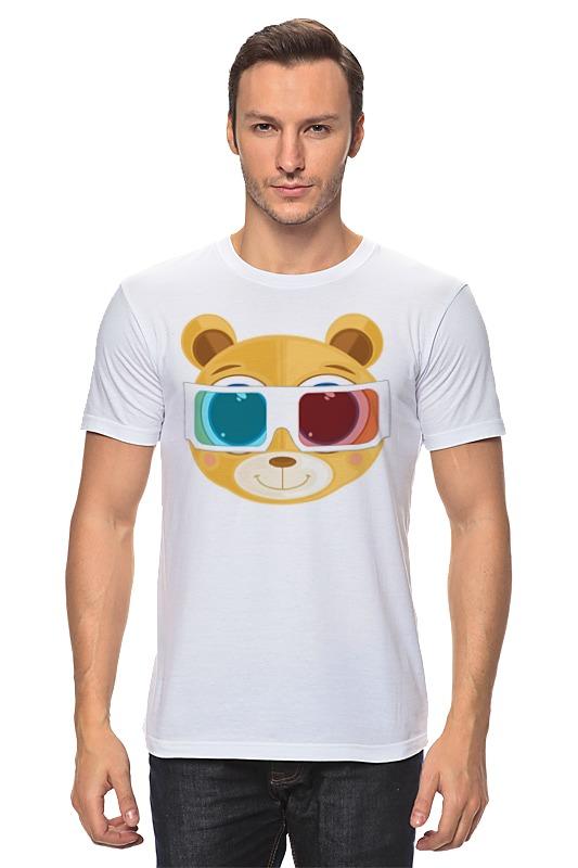 Футболка классическая Printio Медведь 3д футболка 3д на барабашова