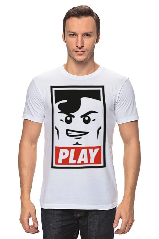 Футболка классическая Printio Lego play (obey) майка классическая printio play