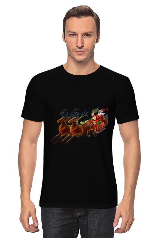 Футболка классическая Printio Санта клаус украшение snowhouse санта клаус snt hd 01