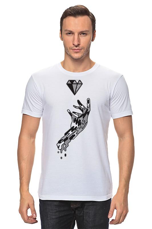 Printio Алмаз и рука футболка wearcraft premium printio алмаз и рука
