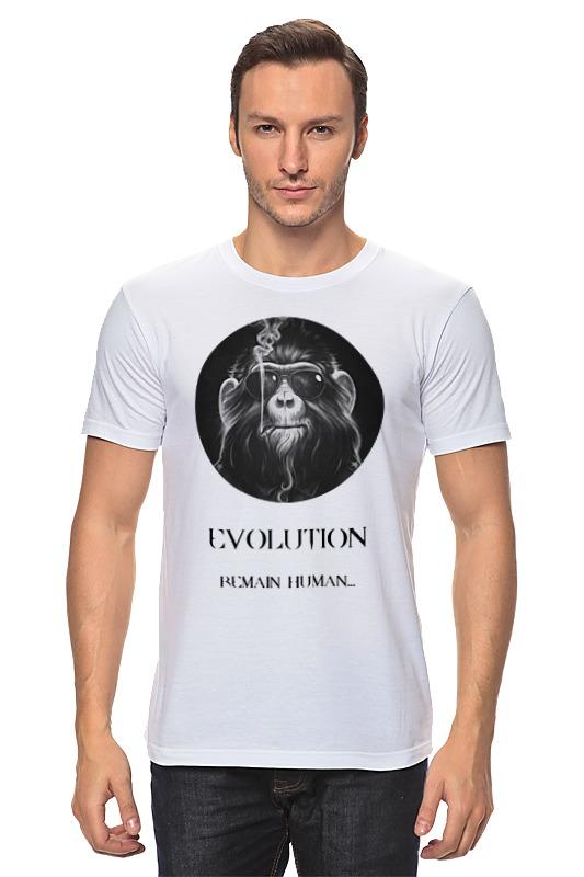 Футболка классическая Printio Evolution (1) футболка рингер printio evolution 1