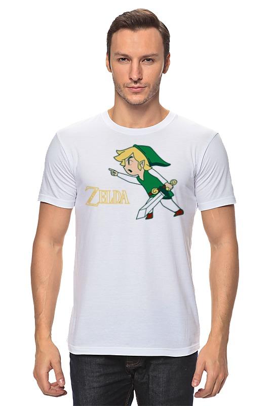 Футболка классическая Printio Link (legend of zelda) детская футболка классическая унисекс printio link legend of zelda