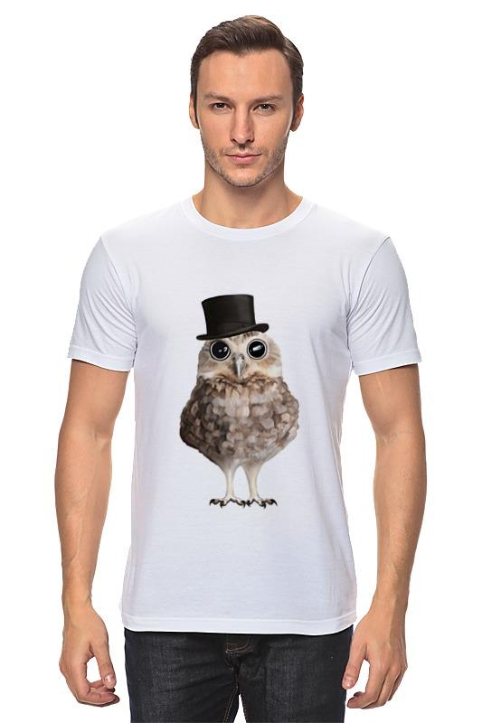 Футболка классическая Printio Совушка джентельмен футболка классическая printio футболка совёнок