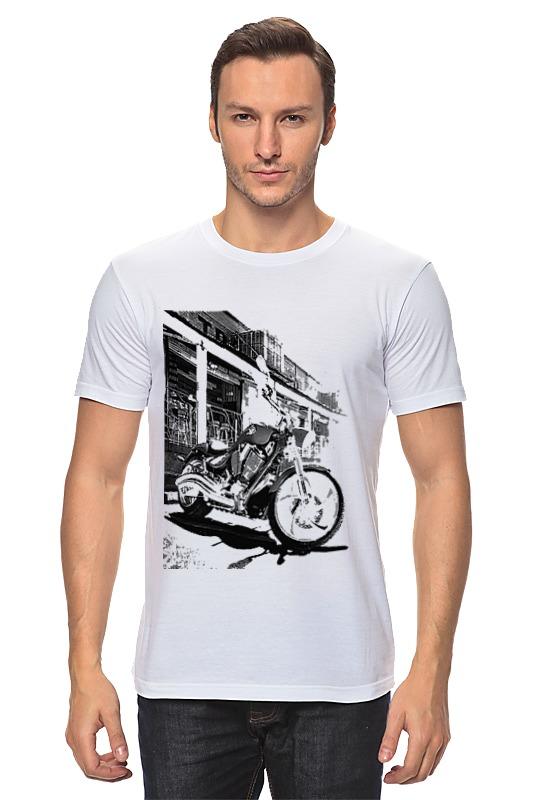 Футболка классическая Printio Мотоциклы мотоциклы