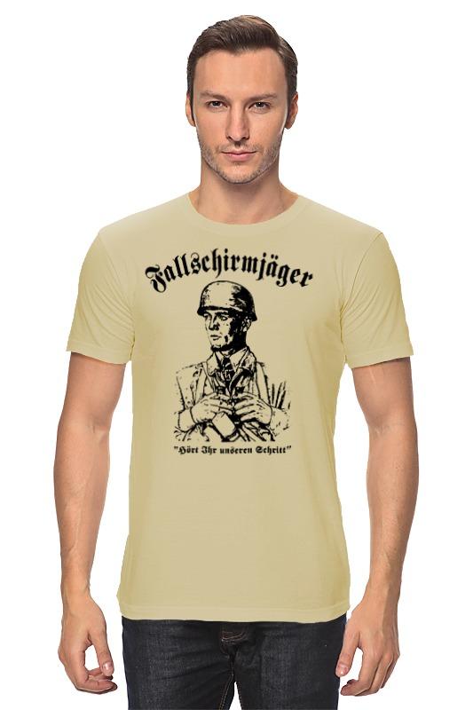 Футболка классическая Printio Fallschirmjager армейский десант германии