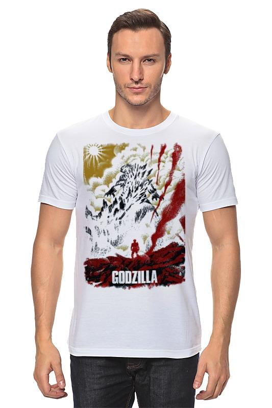 Футболка классическая Printio Godzilla japan